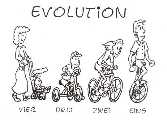 einrad evolution